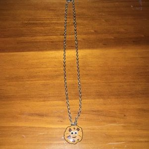 Other - Chocolate Chip Cookie Necklace